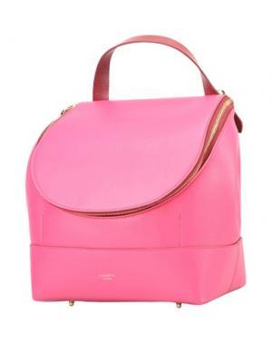Рюкзаки и сумки на пояс PUGNETTI PARMA. Цвет: фуксия