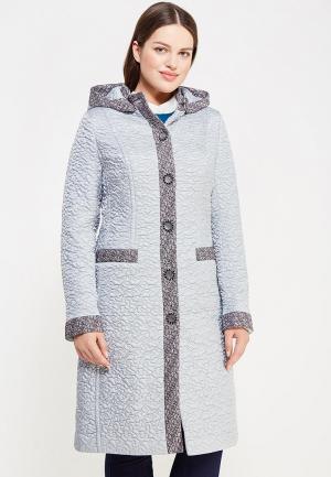 Куртка утепленная Brillare. Цвет: голубой