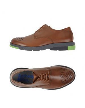 Обувь на шнурках ANTHONY MILES. Цвет: коричневый