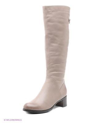 Сапоги Moda Donna. Цвет: серый