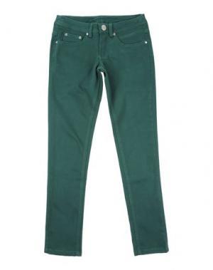 Повседневные брюки FUN &. Цвет: изумрудно-зеленый