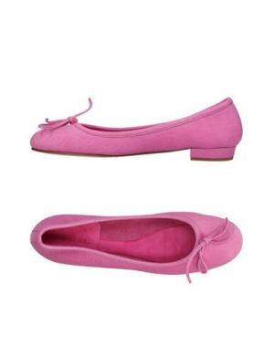 Балетки SWAMP. Цвет: розовый