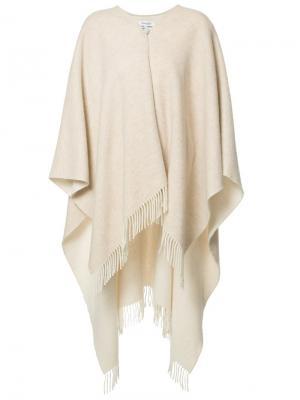 Knitted cape Rodebjer. Цвет: телесный