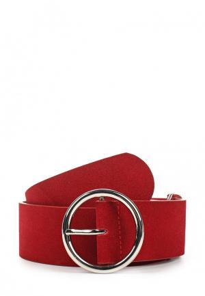 Пояс Pieces. Цвет: красный