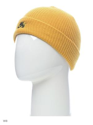 Шапка U NK CAP FISHERMAN Nike. Цвет: золотистый
