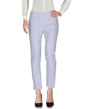 Повседневные брюки TWISTY PARALLEL UNIVERSE. Цвет: небесно-голубой
