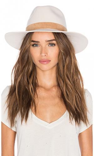 Шляпа birkin KIN/K. Цвет: кремовый