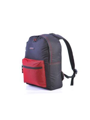 Рюкзак ALPICA. Цвет: черный, красный