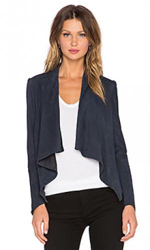 Асимметричная куртка madison LaMarque. Цвет: синий