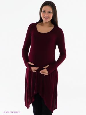 Платье Isabella Oliver. Цвет: бордовый