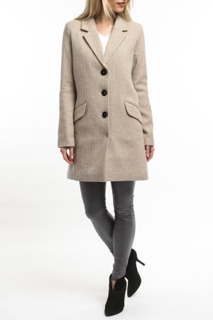 Coat Emma Monti. Цвет: beige