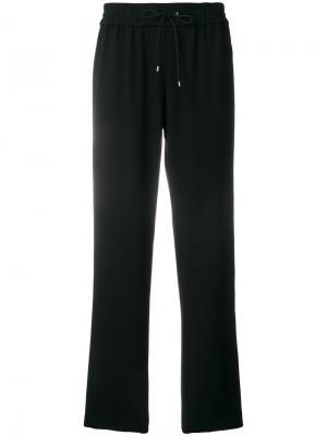 Спортивные прямые брюки Kenzo. Цвет: чёрный