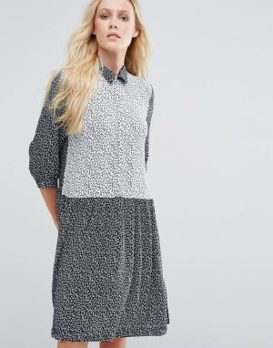 Little White Lies Платье-рубашка с принтом Mirelle. Цвет: мульти