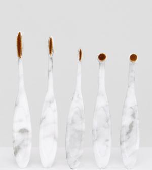 Pro Tools Набор кистей для глаз Brushes Marble. Цвет: бесцветный