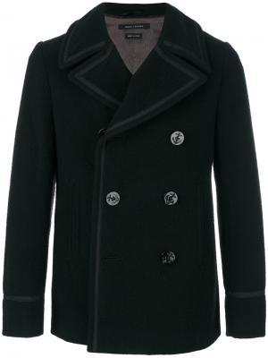 Двубортное пальто Marc Jacobs. Цвет: чёрный