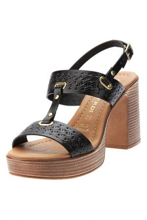 Heeled sandals PRATIVERDI. Цвет: nero