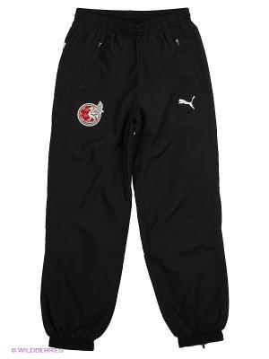 Брюки FC Rubin KA3AHb Leisure Pants Puma. Цвет: черный