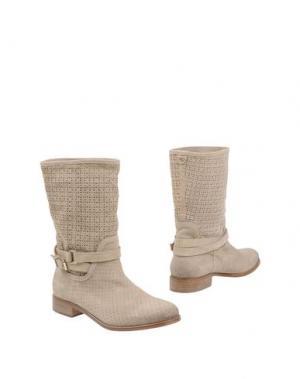 Полусапоги и высокие ботинки TWIN-SET Simona Barbieri. Цвет: бежевый