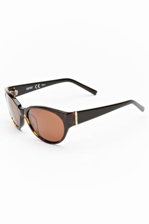 Очки солнцезащитные Esprit. Цвет: коричневый