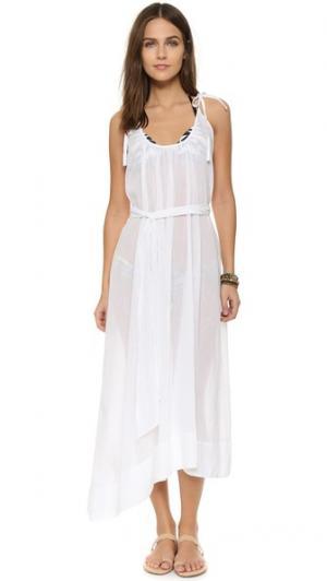 Пляжное платье Breeze Thayer. Цвет: белый бареж