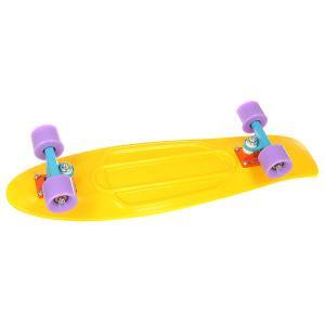 Скейт мини круизер  Nickel 27 Yellow 7.75 x (68.6 см) Penny. Цвет: желтый