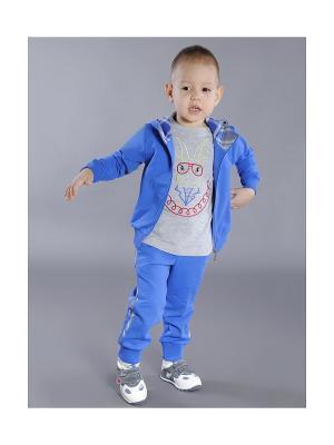 Куртка Fleur de Vie. Цвет: синий
