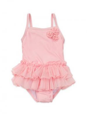 Купальник Ту Little Me. Цвет: розовый