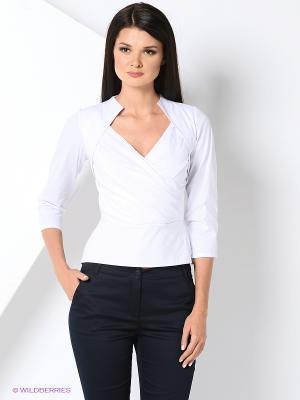 Блузка Lussotico. Цвет: белый
