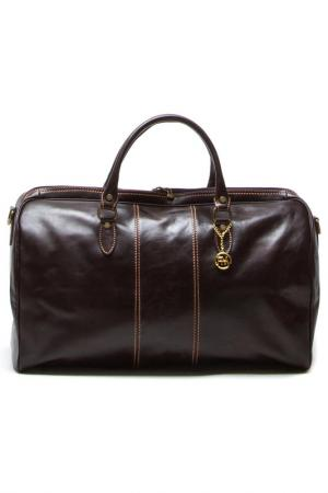 Travel bag ROBERTA M. Цвет: brown