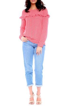 Блуза Moda di Chiara. Цвет: красный