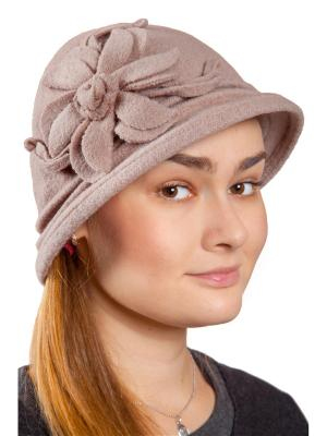 Шляпа Three S. Цвет: серо-коричневый