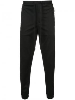 Узкие спортивные штаны 3.1 Phillip Lim. Цвет: чёрный