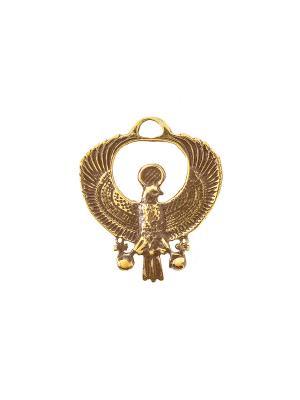 Амулет защитный Египетский Королевский Коршун Aztek. Цвет: желтый