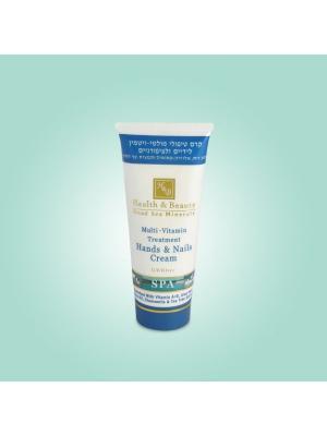 Крем для рук и ногтей Health & Beauty мультивитаминный, 180 мл. Цвет: белый