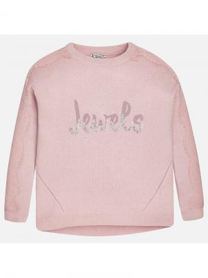 Джемпер Mayoral. Цвет: розовый