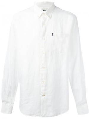 Button-down Frank shirt Barbour. Цвет: белый