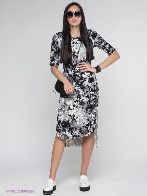 Платье Vero moda. Цвет: белый, черный