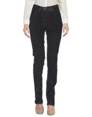 Повседневные брюки BARONI. Цвет: темно-коричневый