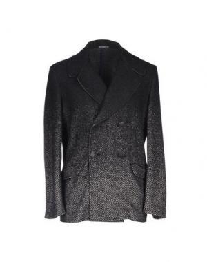 Пальто REVERES 1949. Цвет: стальной серый