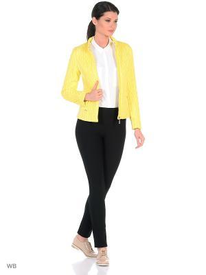 Куртка Lanicka. Цвет: светло-желтый