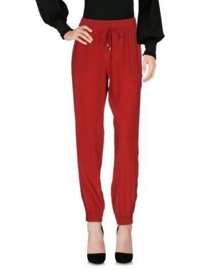 Повседневные брюки ATOS LOMBARDINI. Цвет: кирпично-красный