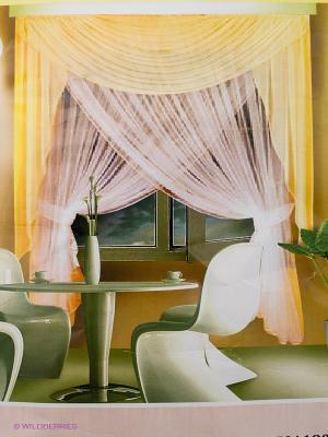 Комплект штор ZLATA KORUNKA. Цвет: белый, кремовый