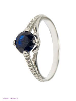 Кольцо Lovely Jewelry. Цвет: синий