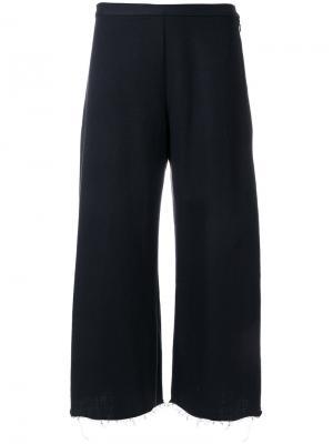 Укороченные широкие брюки Simon Miller. Цвет: чёрный