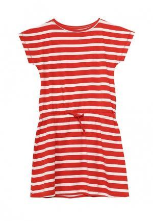 Платье Name It. Цвет: красный