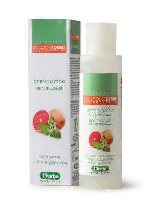 Лосьон для жирных волос с экстрактами крапивы и грейпфрута DERBE. Цвет: зеленый