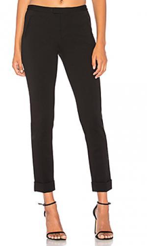 Узкие брюки из понте ATM Anthony Thomas Melillo. Цвет: черный