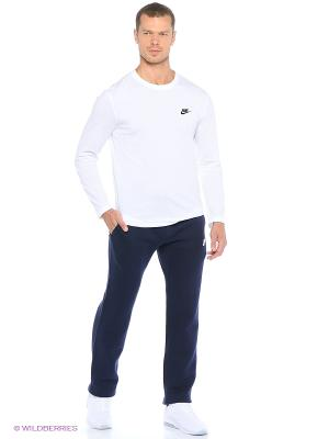 Брюки M NSW PANT OH FLC CLUB Nike. Цвет: синий