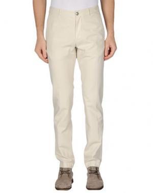 Повседневные брюки M.GRIFONI DENIM. Цвет: слоновая кость