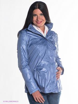 Куртка Mamita. Цвет: голубой